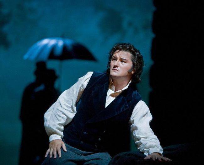 """Piotr Beczala as Edgardo in Donizetti's 'Lucia di Lammermoor."""" Photo: Ken Howard/Metropolitan Opera"""