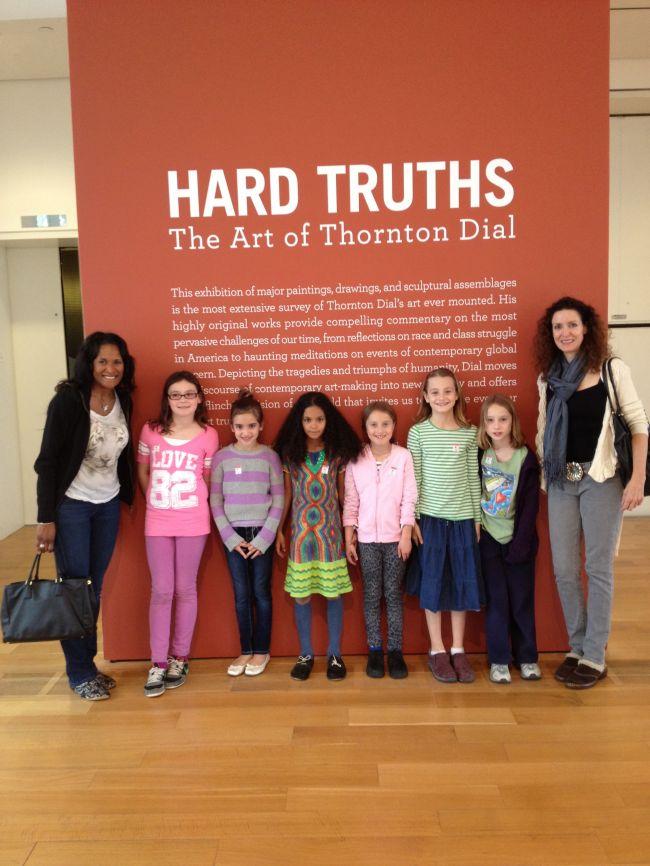 Hard Truths Exhibition Entrance