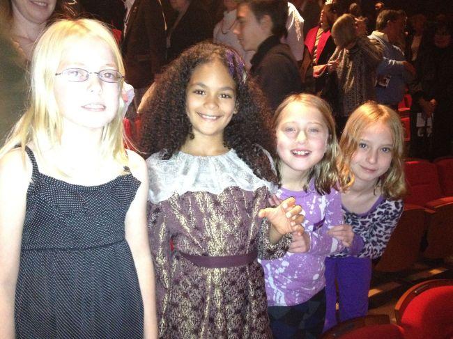 Esme, Layla, Jordan & Megan