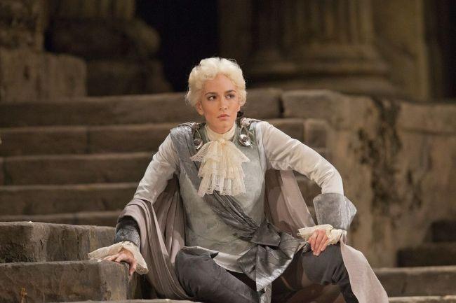 "Kate Lindsey as Annino in Mozart's ""La Clemenza di Tito.""  Photo: Ken Howard/Metropolitan Opera"