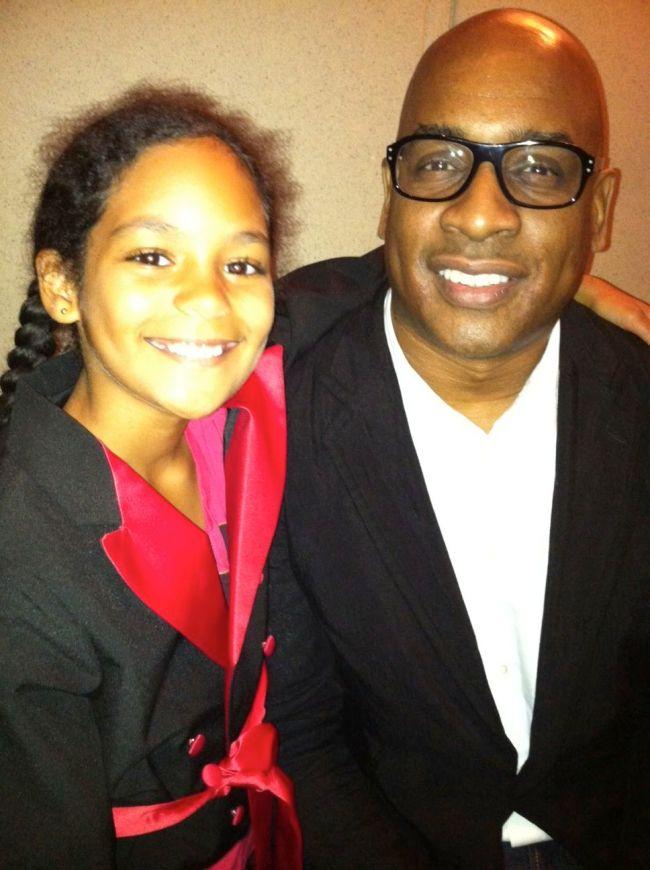 Layla with Glenn Ligon