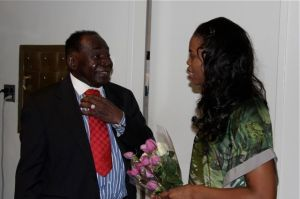 Grandpa Sewell with Pretty Yende