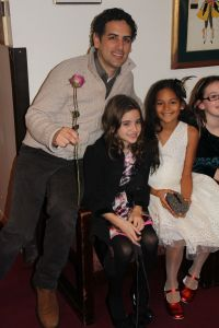 Juan Diego Flores with Lexi & Layla