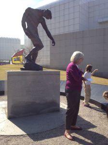 Rodin Sculpture memorial