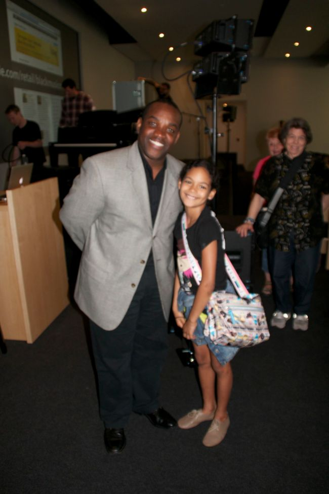 Lawrence Brownlee with Layla