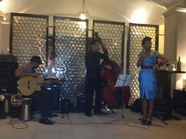Celia performing
