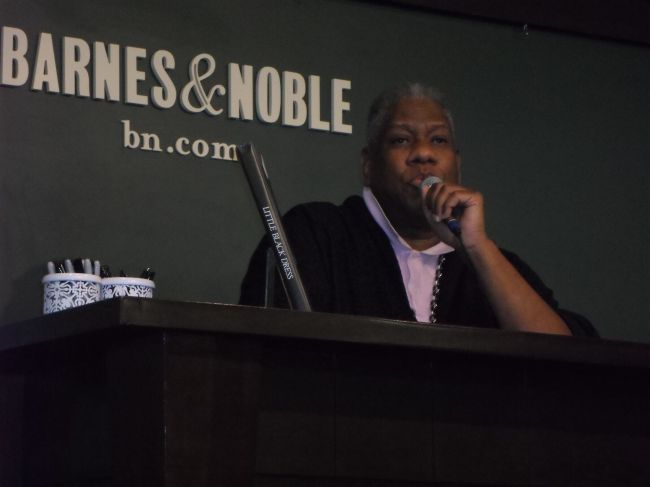 Mr. Talley during the Q & A