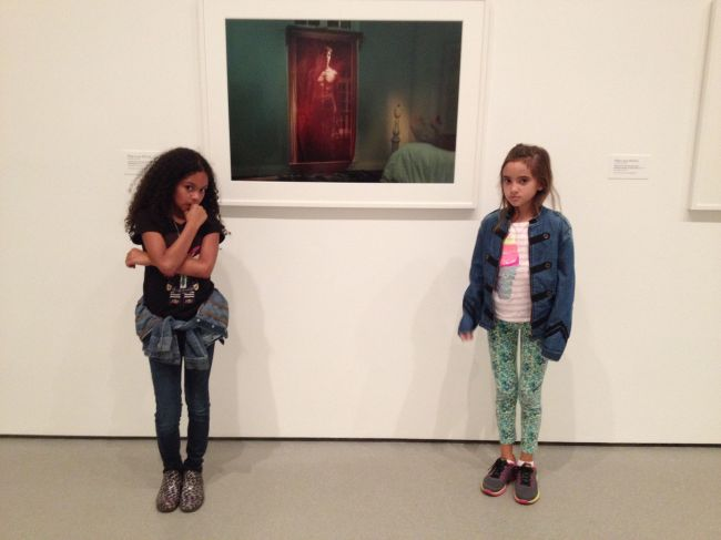 Layla & Lexi at MOMA