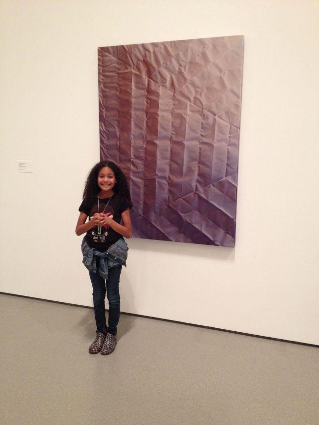 Layla at MOMA