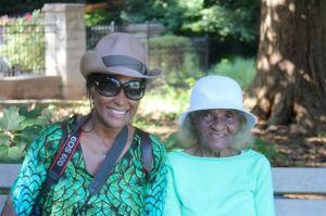 Alicia & Grandma Sewell