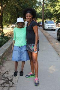 Grandma Sewell & Leslie