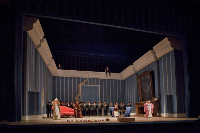 A scene from La Cenerentola Photo: Ken Howard/Metropolitan Opera