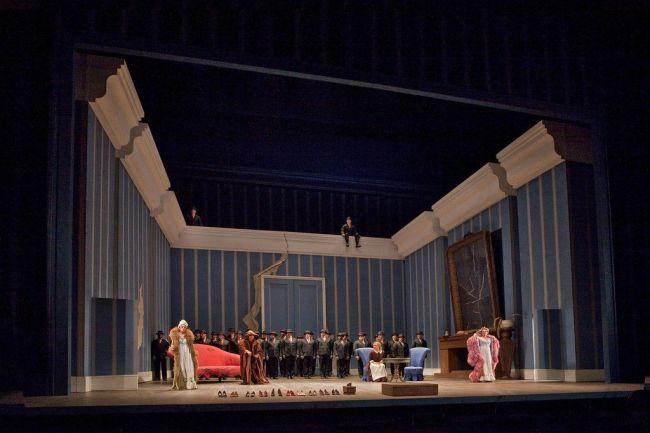 A scene from La Cenerentola Photo: Ken Howard/Metropolitan Opera