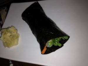 Shrimp Tempura Hand Roll