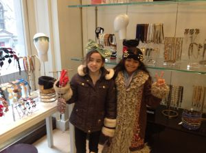 Lexi & Layla trying on some new looks