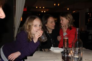 Jordan, Abby, Megan