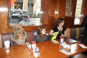 Brunch with Grandma Sewell, Layla, Lexi & Roula