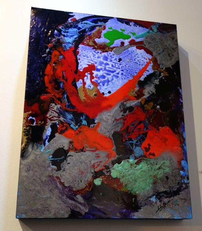 Art piece at Flux
