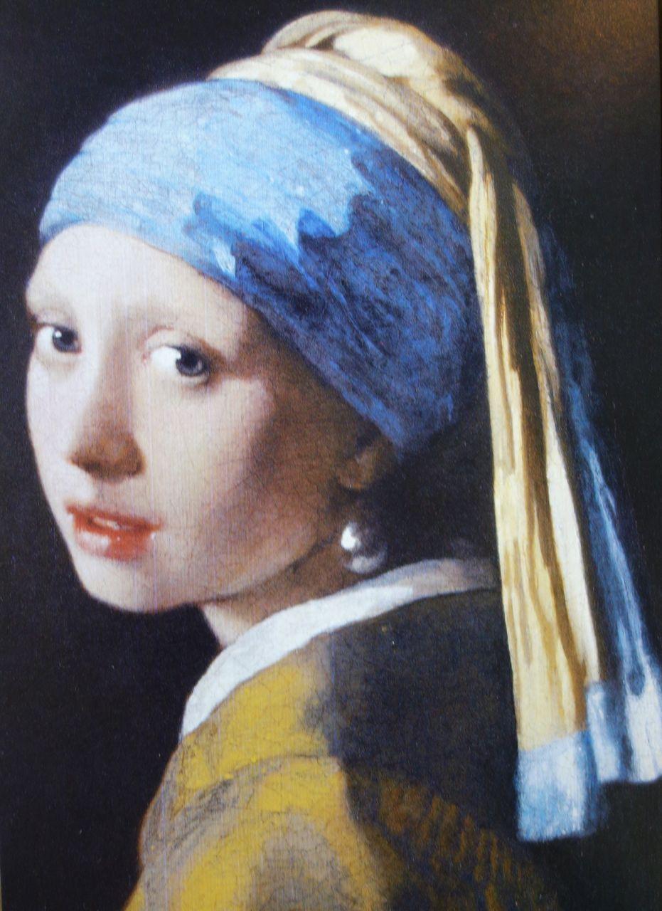 Photo Of Postcard Of Johannes Vermeer's