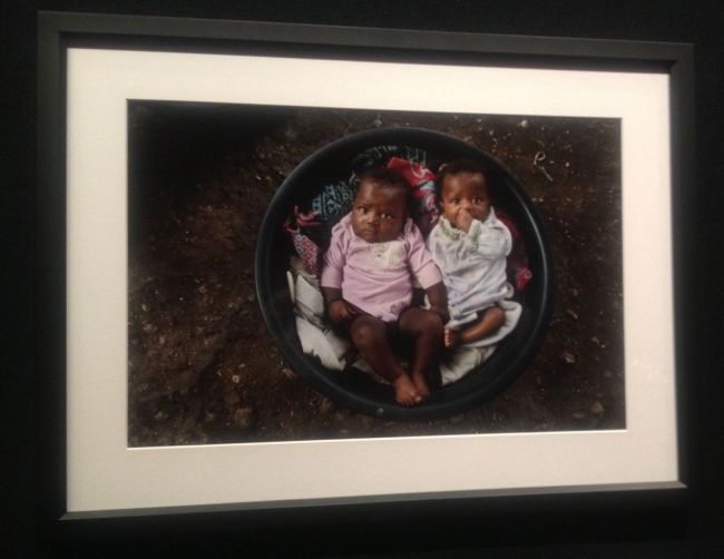 Alison Wright- Babies in a bucket after the earthquake- Port-au-Prince, Haiti, 2010
