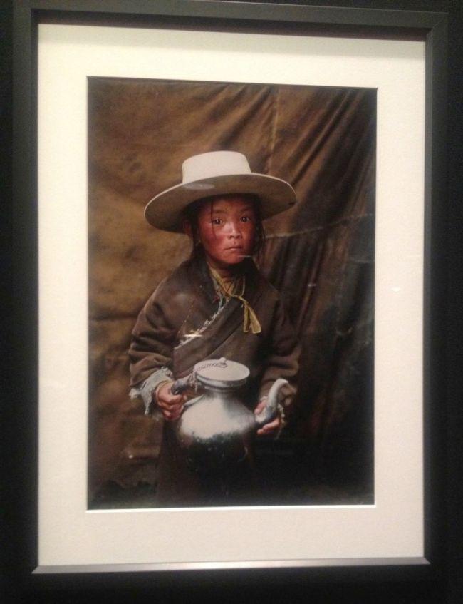Alison Wright- Nomad boy with teapot- Kham, Tibet, 2005