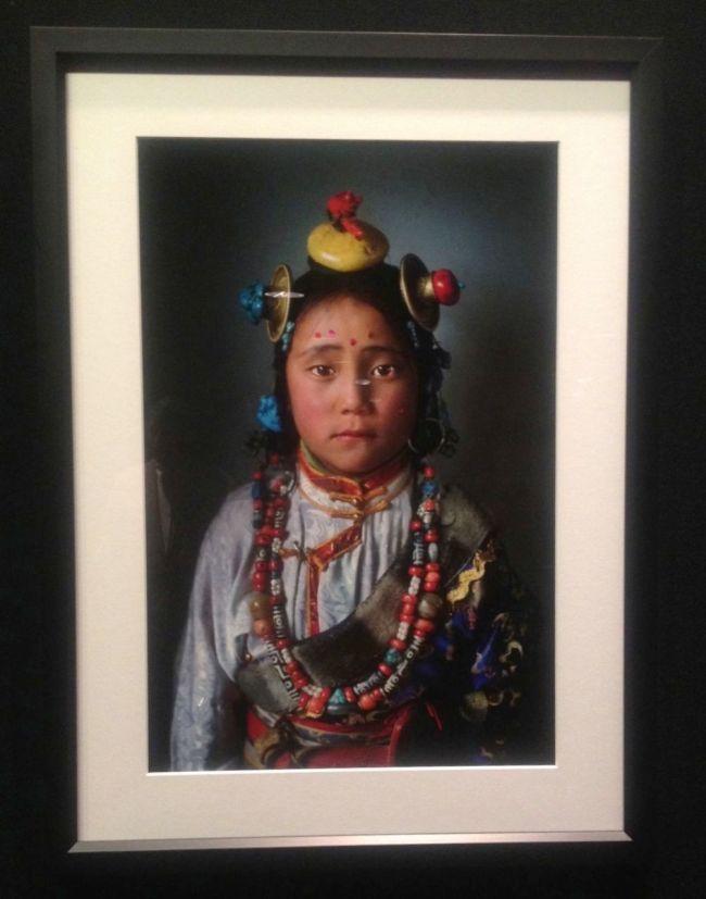 Alison Wright- Tibet Girl- near Manigango, Kham, Tibet, 2005