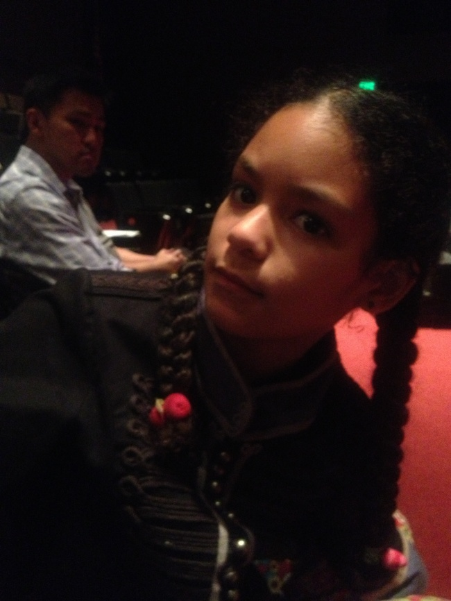 Layla during the lecture