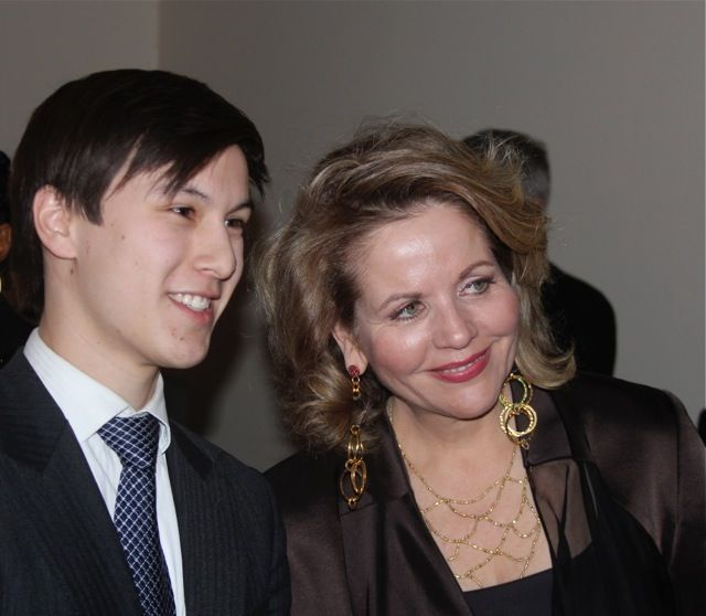 Renee Fleming with Michael