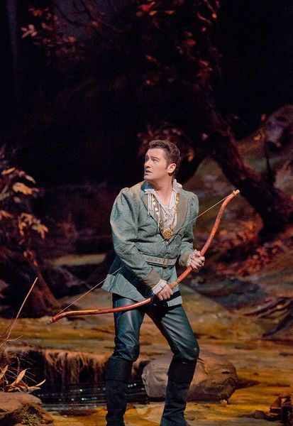 "Piotr Beczala as the Prince in Dvořák's ""Rusalka.""  Photo: Ken Howard/Metropolitan Opera"