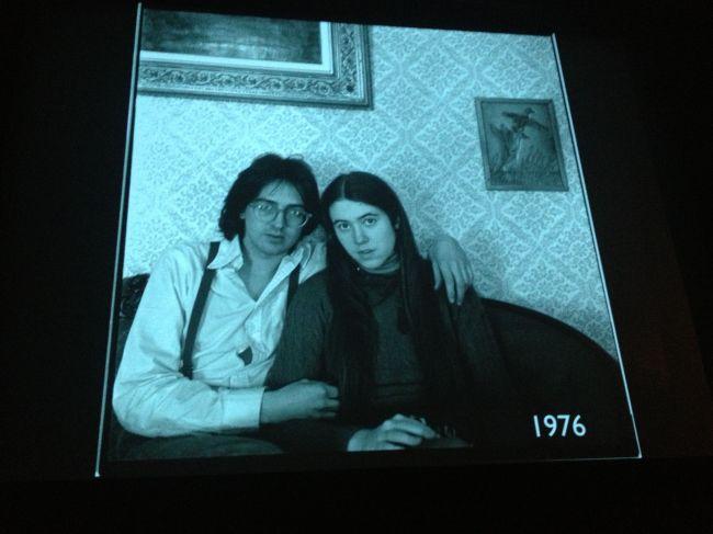 Abelardo and his wife