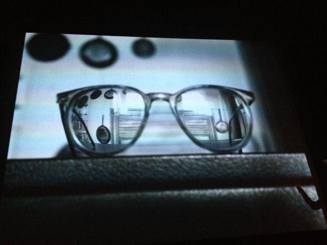 Abelardo's eyeglasses