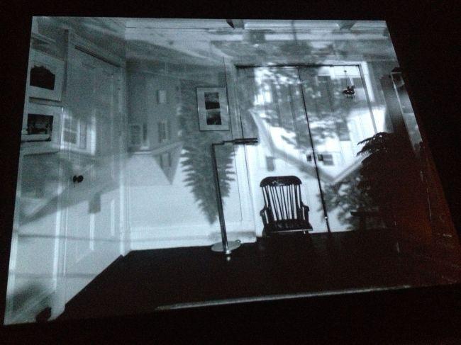 Abelardo's first camera obscure image