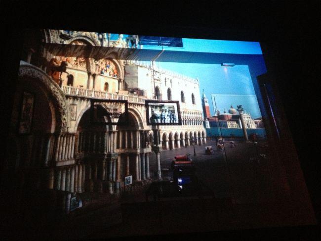 Venice camera obscura image