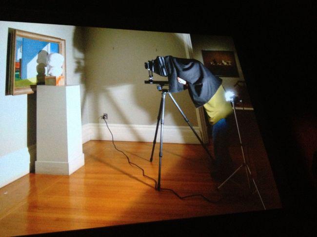 Yale museum setup