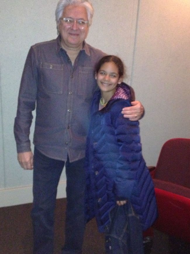 Abelardo Morell with Layla