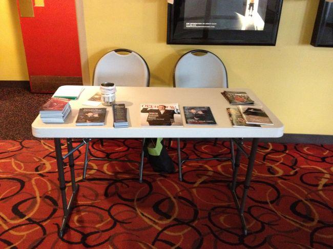 HD Ambassador Table