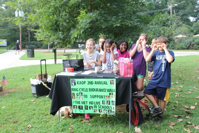 The Kids Opera & Art Posse at the 2nd Annual Ring Cycle Endurance Walk
