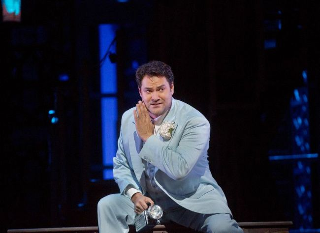 "Ildar Abdrazakov as Figaro in Mozart's ""Le Nozze di Figaro."" Richard Eyre's new production of the opera, conducted by James Levine, opens the Met season on September 22, 2014. Photo: Ken Howard/Metropolitan Opera"
