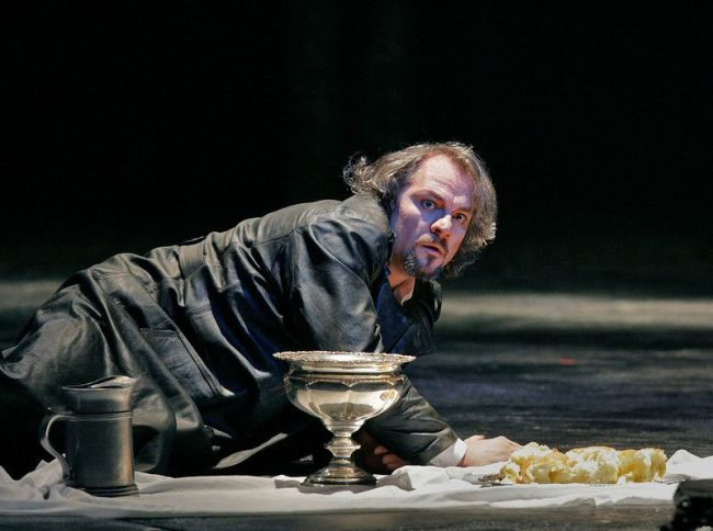 "Zeljko Lucic in the title role of Verdi's ""Macbeth."" Photo: Ken Howard/Metropolitan Opera"