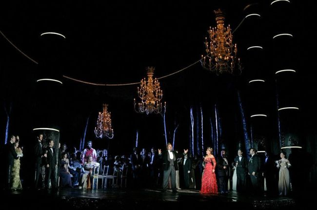 "A scene from Verdi's ""Macbeth"" Photo: Ken Howard/Metropolitan Opera"