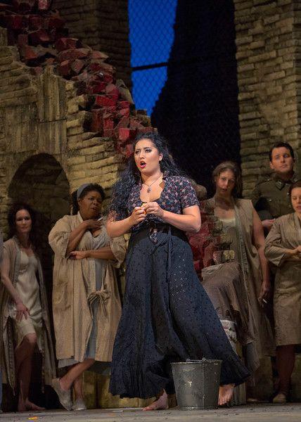Anita Rachvelishvili Photo: Ken Howard/Metropolitan Opera
