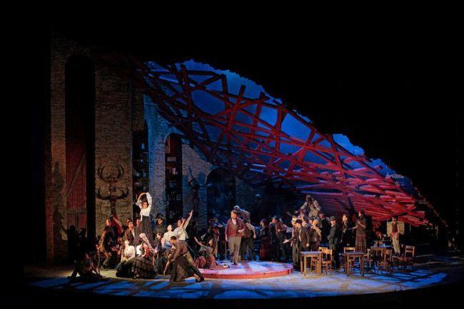 """Bizet's """"Carmen"""" Photo: Ken Howard/Metropolitan Opera"""