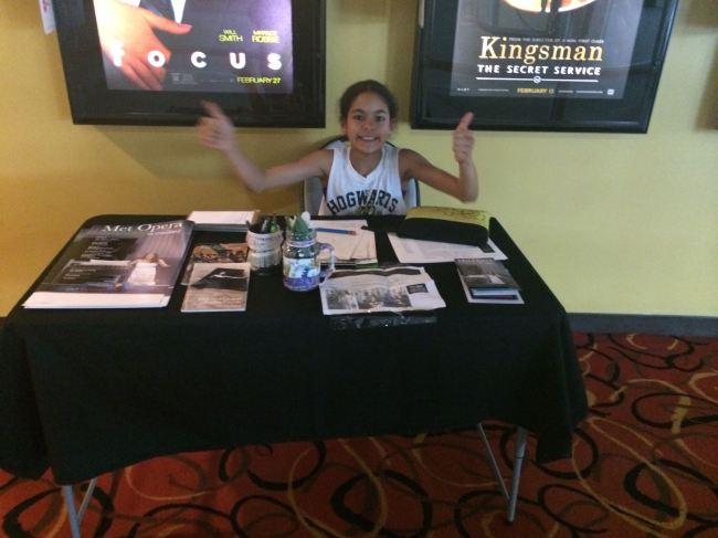 KAOP Ambassador Table