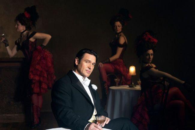 "Franz Lehár THE MERRY WIDOW Nathan Gunn as Danilo in Lehár's ""The Merry Widow."" Susan Stroman's new production opens on December 31, 2014.  Photo: Brigitte Lacombe/Metropolitan Opera"