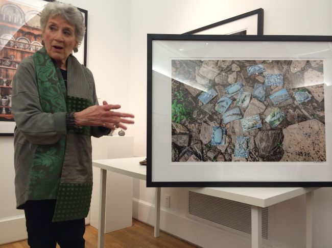 Lucinda with Rock Piece