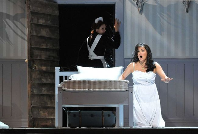 "Peter Tchaikovsky IOLANTA Anna Netrebko in the title role of Tchaikovsky's ""Iolanta."" The opera has its Met premiere on January 26, 2015 in a double bill with Bartók's ""Duke Bluebeard's Castle."" Both operas will be conducted by Valery Gergiev and directed by Mariusz Trelinski.  Baden-Baden Festival photo: Andrea Kremper"
