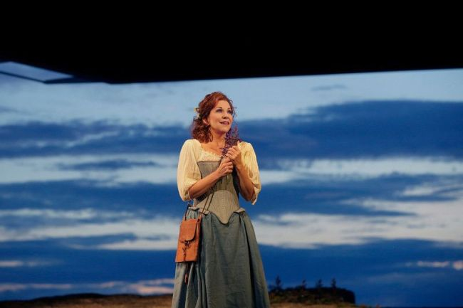 "Gioachino Rossini LA DONNA DEL LAGO Joyce DiDonato as Elena in Rossini's ""La Donna del Lago.""  Santa Fe Opera photo: Ken Howard"