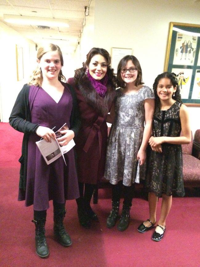 Isabel, Michaela, Lucy & Layla