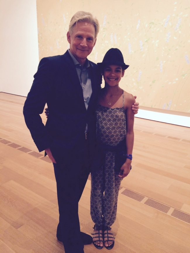 Art Dealer Richard Gray and Layla