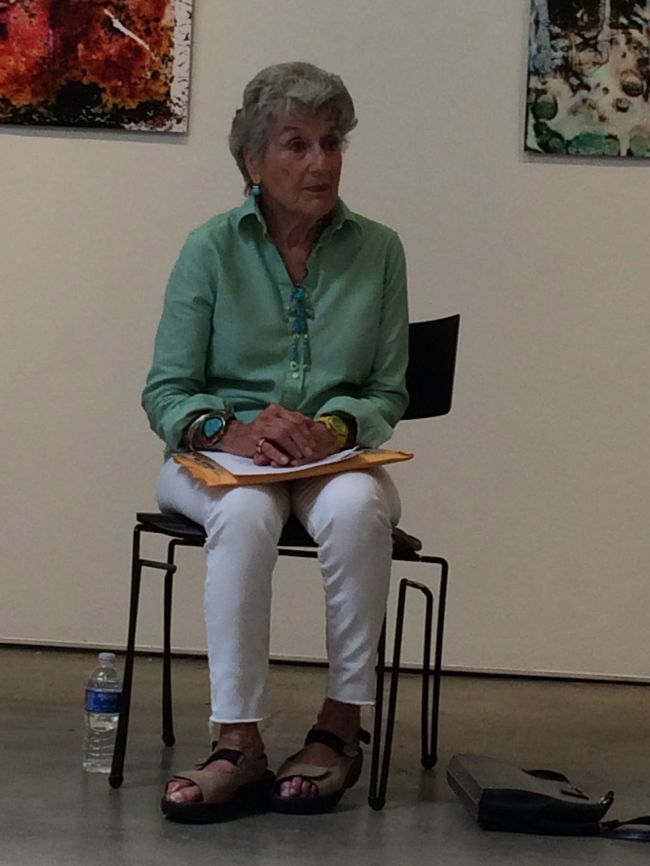 Lucinda's Talk at Marcia Wood Gallery
